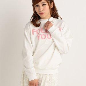 LIZ LISA Fringed Logo Sweater