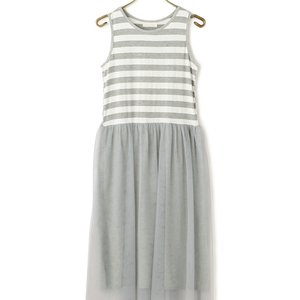 LIZ LISA Striped Tulle Dress
