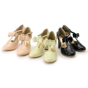 J-Fashion / Shoes / LIZ LISA Enamel Strap Pumps