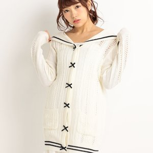 LIZ LISA Long Sailor Cardigan