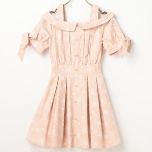 LIZ LISA Embroidered Print Dress