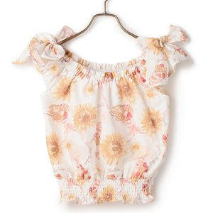 LIZ LISA Sunflower & Parfait Top