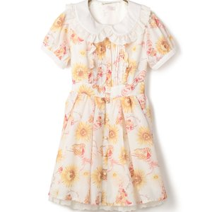 LIZ LISA Sunflower & Parfait Dress