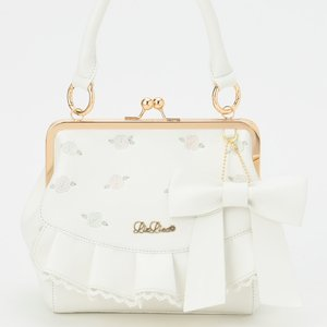 LIZ LISA Embroidered Gamaguchi Coin Pouch