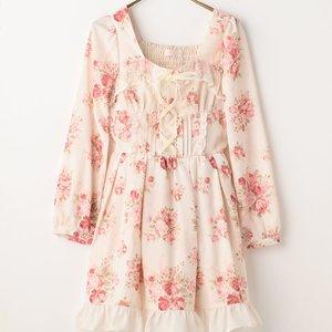 J-Fashion / Dresses / LIZ LISA Bouquet Ribbon Dress