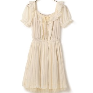 LIZ LISA Puffy Pleated Dress