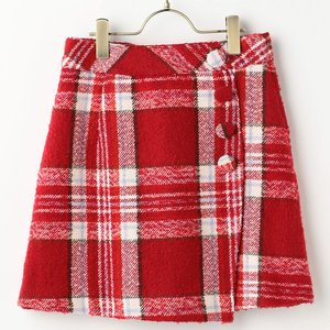 J-Fashion / Bottoms / LIZ LISA Checkered Wrap Skirt
