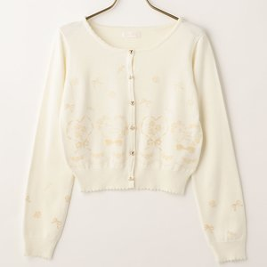 LIZ LISA Flocked Cardigan