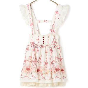 J-Fashion / Dresses / Bottoms / LIZ LISA Rose Ribbon Skirt