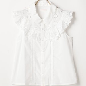 LIZ LISA Sunflower Lace Blouse