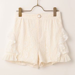 LIZ LISA Tiered Lace Shorts