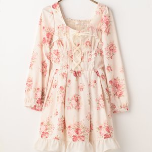 LIZ LISA Bouquet Ribbon Dress
