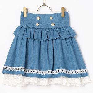 LIZ LISA Dungaree Sukapan Skirt