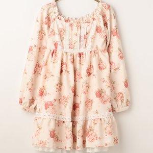 J-Fashion / Dresses / LIZ LISA Dot Floral Dress