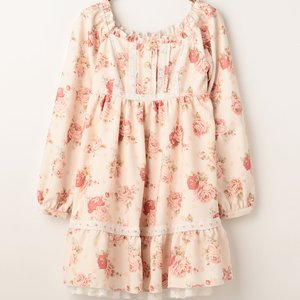 LIZ LISA Dot Floral Dress