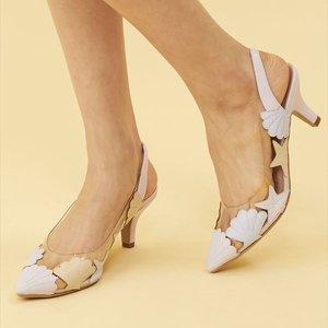 J-Fashion / Shoes / Honey Salon Shell High Heels (Lavender)