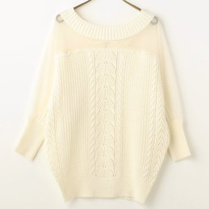 LIZ LISA Dolman Knit Top