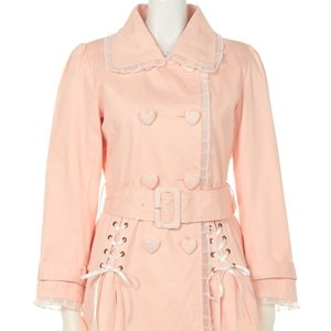 Swankiss Lace Trenchcoat