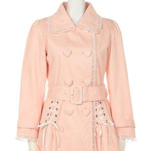 J-Fashion / Coats / Swankiss Lace Trenchcoat