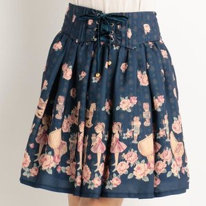 LIZ LISA Fairy Tale Print Skirt