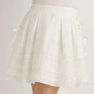 LIZ LISA Message Lace Skirt