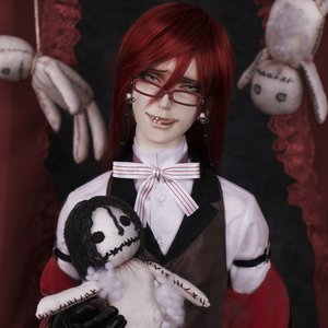 Figures & Dolls / Dolls / Black Butler: Book of Circus Grelle Sutcliff Cast Doll