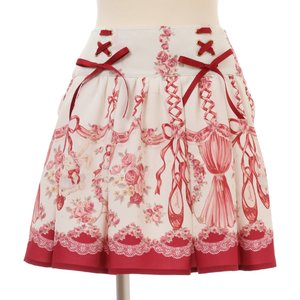 LIZ LISA Pointe Shoes Rabbit Sukapan Skirt