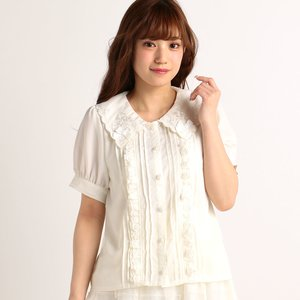 LIZ LISA Collar Ribbon Blouse
