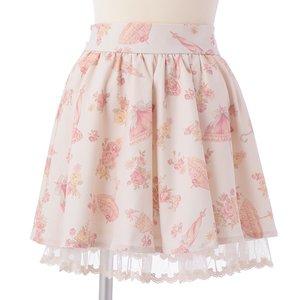 LIZ LISA Parasol Sukapan Skirt