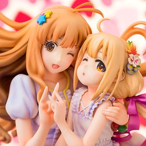 Figures & Dolls / Scale Figures / Bishoujo Figures / Idolm@ster Cinderella Girls Kirari Moroboshi & Anzu Futaba 1/8 Scale Figure