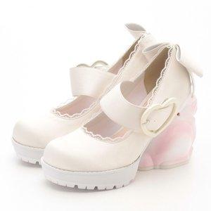 J-Fashion / Shoes / Swankiss Rabbit Heel Shoes