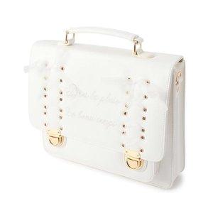 LIZ LISA Briefcase-Style Lace Bag