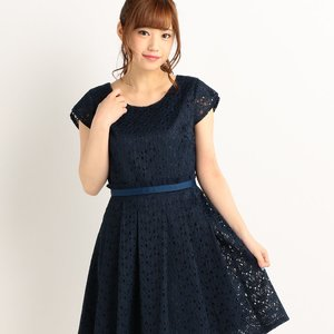 LIZ LISA Lace & Flower Dress