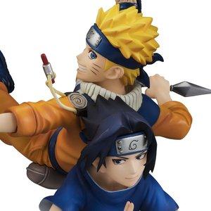 Figures & Dolls / Scale Figures / G.E.M. Series Naruto Remix Uzumaki Naruto & Uchiha Sasuke