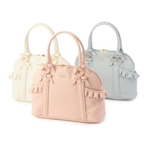 LIZ LISA Frilly Boston Bag