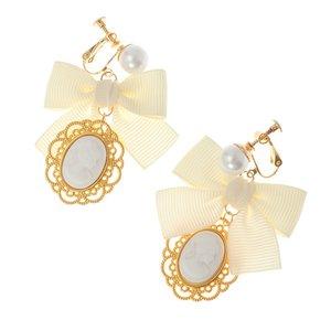 LIZ LISA Cameo Earrings