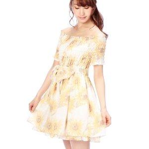 LIZ LISA Sunflower Dress w/ Official LIZ LISA Shop Bag