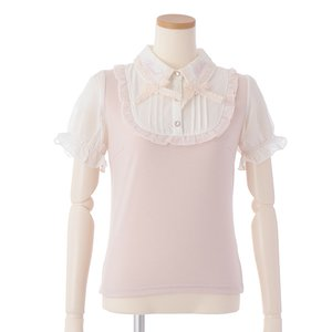 LIZ LISA Cut x Chiffon Blouse