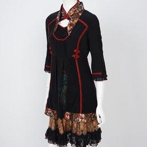 Ozz Oneste Tenge Dianthus Chinese Color Dress