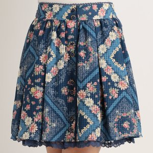 LIZ LISA Handkerchief Pattern Skirt