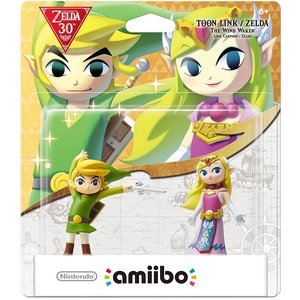 Gaming / Game Accessories / Legend of Zelda: The Wind Waker Toon Link & Zelda amiibo