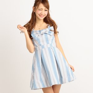 LIZ LISA Multi Stripe Dress