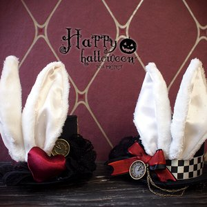 J-Fashion / Hats / NO.S PROJECT White Rabbit Petit Silk Hat