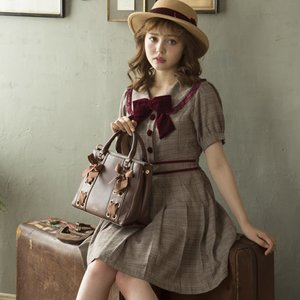 LIZ LISA Glen Check Dress