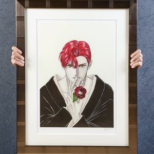 Art Prints / Fine Art / Ranmaru Fine Art Print by Kazuma Kodaka