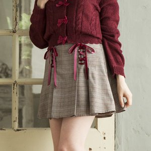 LIZ LISA Glen Check Sukapan Skirt