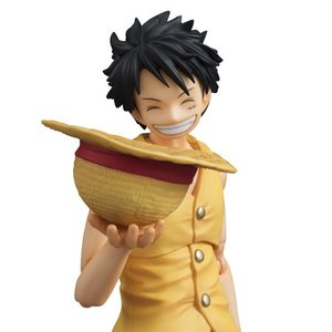 Variable Action Heroes One Piece Luffy Past Blue Ver. Yellow