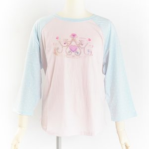 milklim Princess Tiara Raglan Top