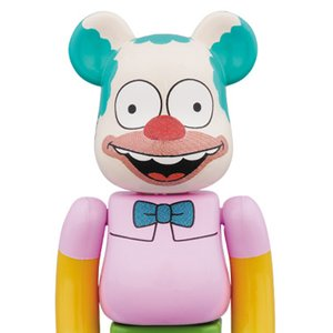 Toys & Knick-Knacks / Collectable Toys / BE@RBRICK The Simpsons Krusty the Clown 100%