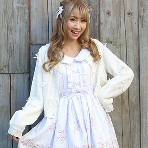 LIZ LISA Ribbon Line Cardigan